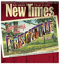 Magazine cover from Broward Palm Beach News